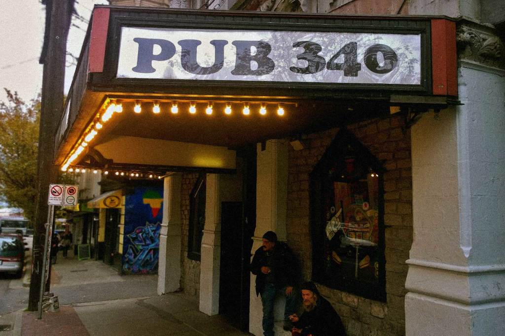 On the edge of Gastown, Pub 340 has a dedicated pinball room, league events, and a surprisingly good open-mic.