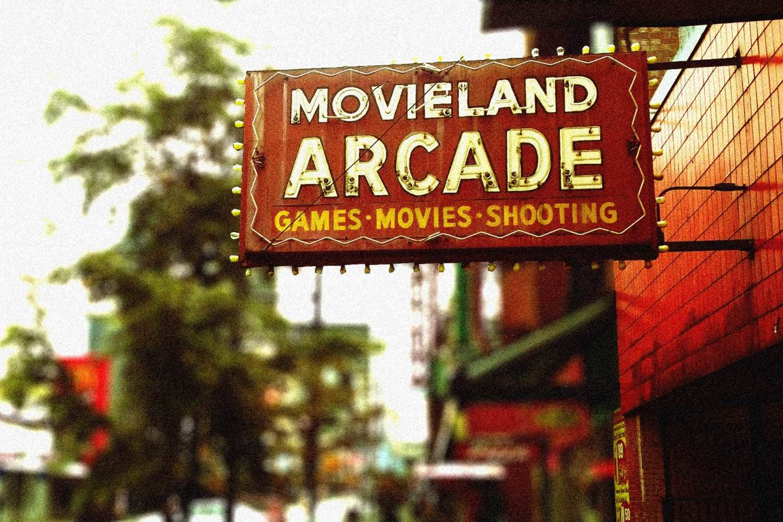 Movieland marquee