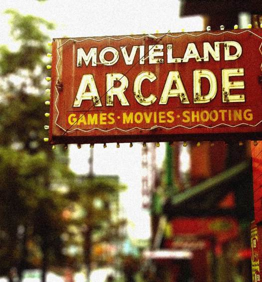 Movieland marquee
