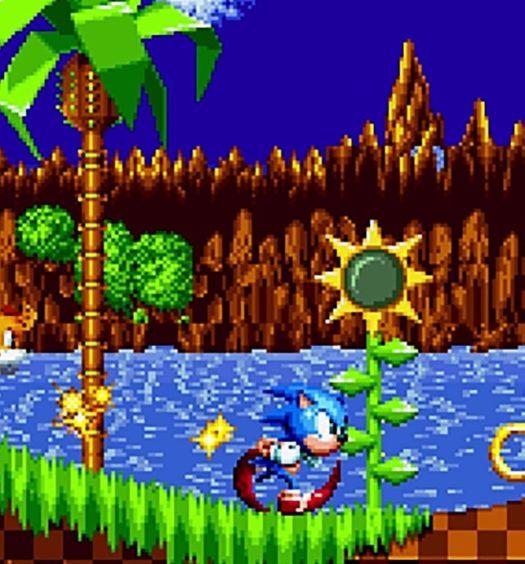 Sonic Mania screenshot detail